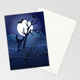 Night sex Stationery Cards