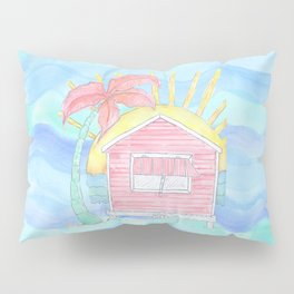 Beach Shack Vibes Pillow Sham