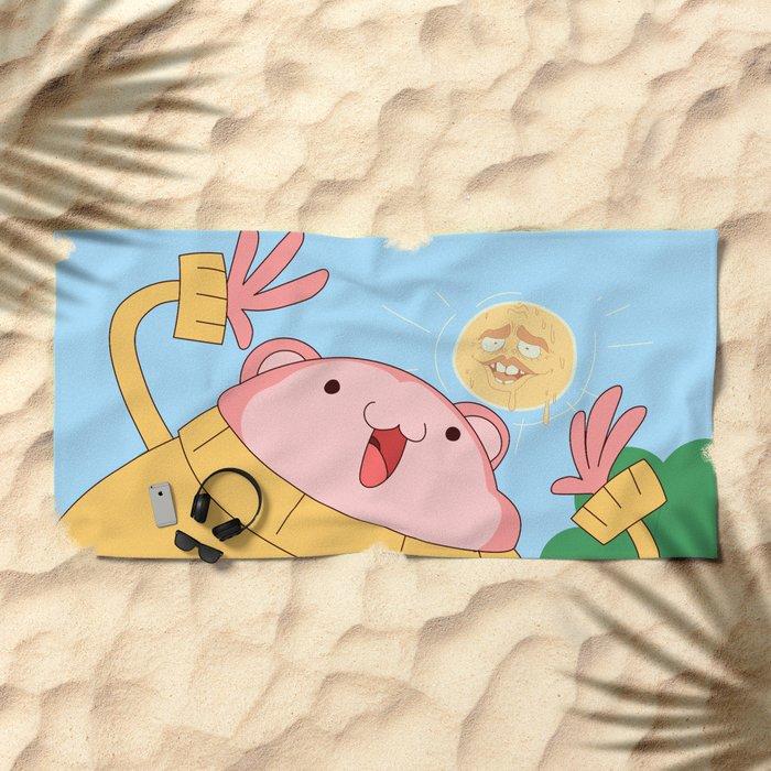 My name is Peepoodo Beach Towel