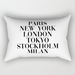 cities Rectangular Pillow