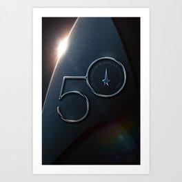 Trek 50 – StarTrek 50th Anniversary Art Print