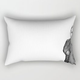 Theodore Roosevelt Did All the Things. Rectangular Pillow