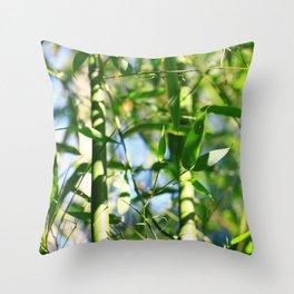 Bambusa Throw Pillow
