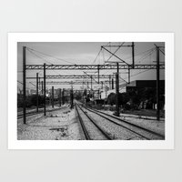 train Art Prints featuring Train by Maressa Andrioli
