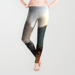 Lago di Braies Leggings