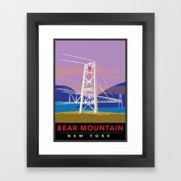 Bear Mountain Bridge Framed Art Print