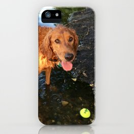 Wanna Play Fetch? iPhone Case
