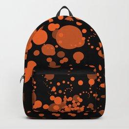 Orange Bubbles Backpack