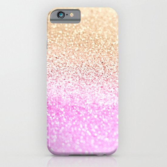 GOLD PINK GLITTER by Monika Strigel iPhone & iPod Case