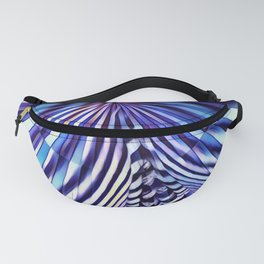 7694s-KMA Abstract Blue Nude Intimate Sexy Hot Fanny Pack