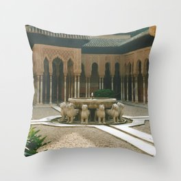 Alhambra Throw Pillow
