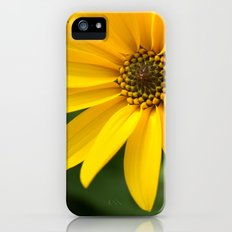 Yellow Flower Slim Case iPhone (5, 5s)