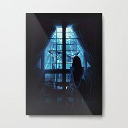 Nightly Visit Metal Print