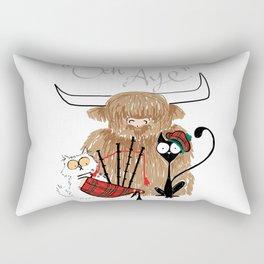 Och Aye Rectangular Pillow
