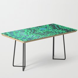 Doodle 16 Blue Coffee Table