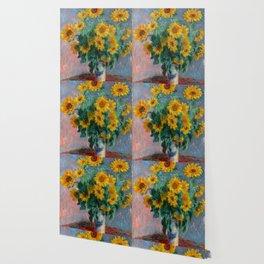 Bouquet of Sunflowers - Claude Monet Wallpaper