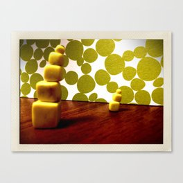 Wake up, it's morning Canvas Print