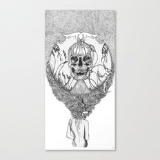 lady death Canvas Print