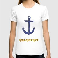 nautical T-shirts featuring Nautical by DesignSam