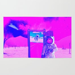 Pink World by GEN Z Rug