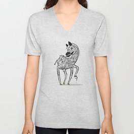 Twisted Zebra Unisex V-Neck