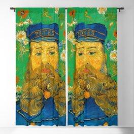 Vincent van Gogh - Portrait of Postman Blackout Curtain