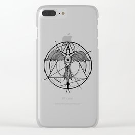 Phoenix ascending Clear iPhone Case