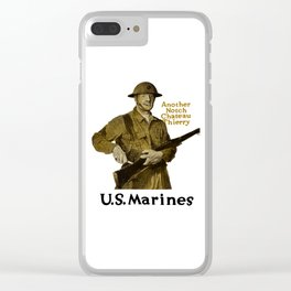 Marines -- Another Notch Chateau Thierry Clear iPhone Case