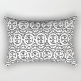 Downtown Doodler: Chrysler Building Archi-doodle Rectangular Pillow