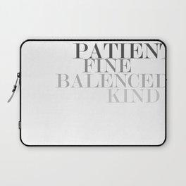 Skinny Love Typography Laptop Sleeve