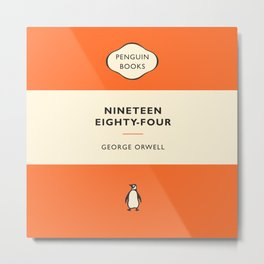 George Orwell - Nineteen Eighty-Four Metal Print
