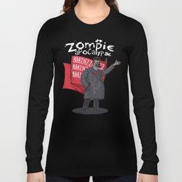 Zombie Lenin Long Sleeve T-shirt
