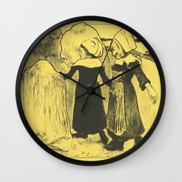 Pleasures of Brittany Wall Clock