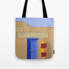Adobe Wall Right Tote Bag