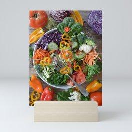Vegan summer II Mini Art Print