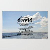 david olenick Area & Throw Rugs featuring David by KimberosePhotography