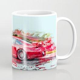 The Red Porsche Coffee Mug