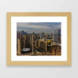 Eh? Framed Art Print