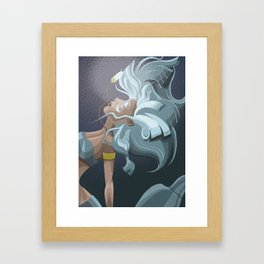 Kida from Atlantis Framed Art Print