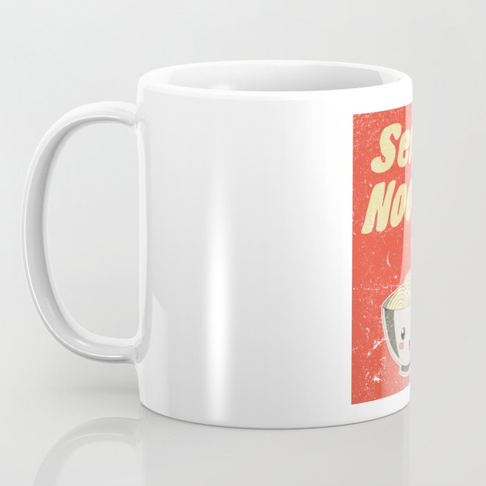 Send Noods Vintage Ramen Noodles Japanese Food Gift For Foodies Coffee Mug