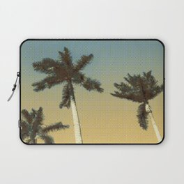 Palms and clear skies Laptop Sleeve
