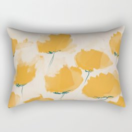 The Yellow Flowers Rectangular Pillow