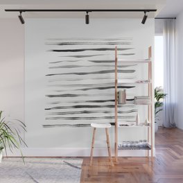 Between the lines Wall Mural