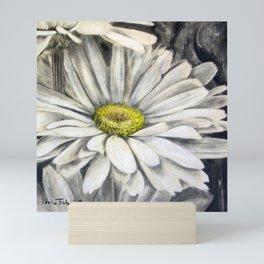 Follage de margarita (Daisy folge) Mini Art Print