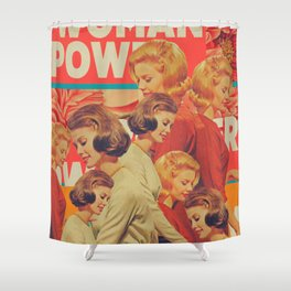 Woman Power Shower Curtain