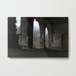 Ironton Trail Arched Doorways Metal Print