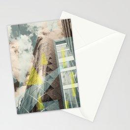 Blue & crystal Stationery Cards