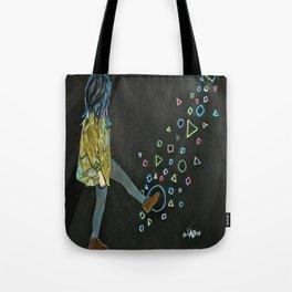 Kickin Up Shapes Tote Bag