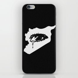 Mourn With Me iPhone Skin