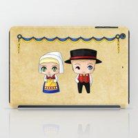 swedish iPad Cases featuring Swedish Chibis by artwaste